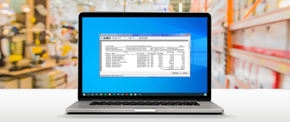 icp aangifte in king software-header